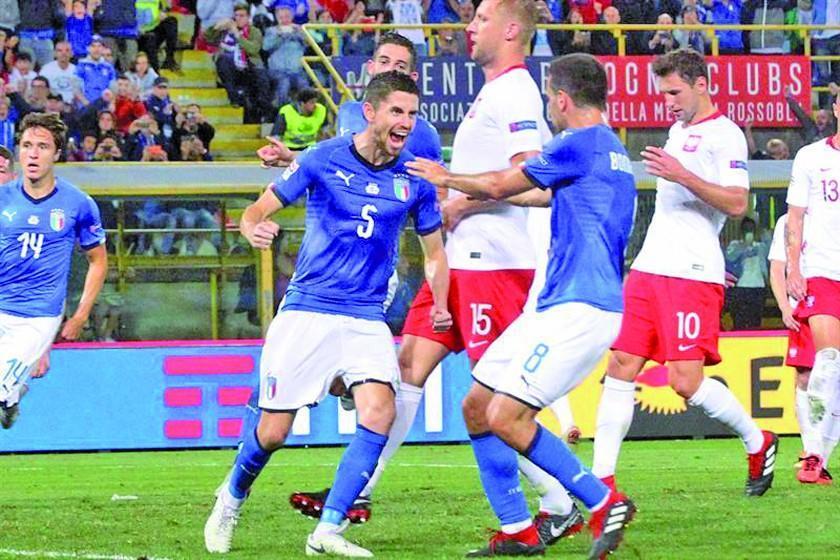 Italia consigue un empate ante Polonia