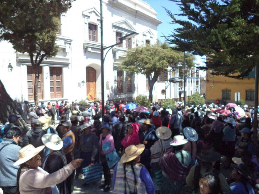 Feriafranquistas iniciarán esta semana una huelga de hambre