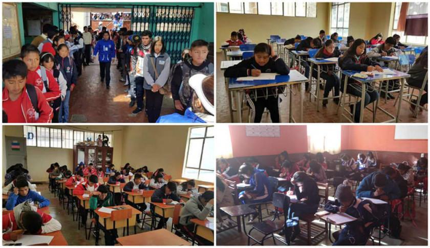 Más de cinco mil estudiantes participaron de las Olimpiadas Científicas