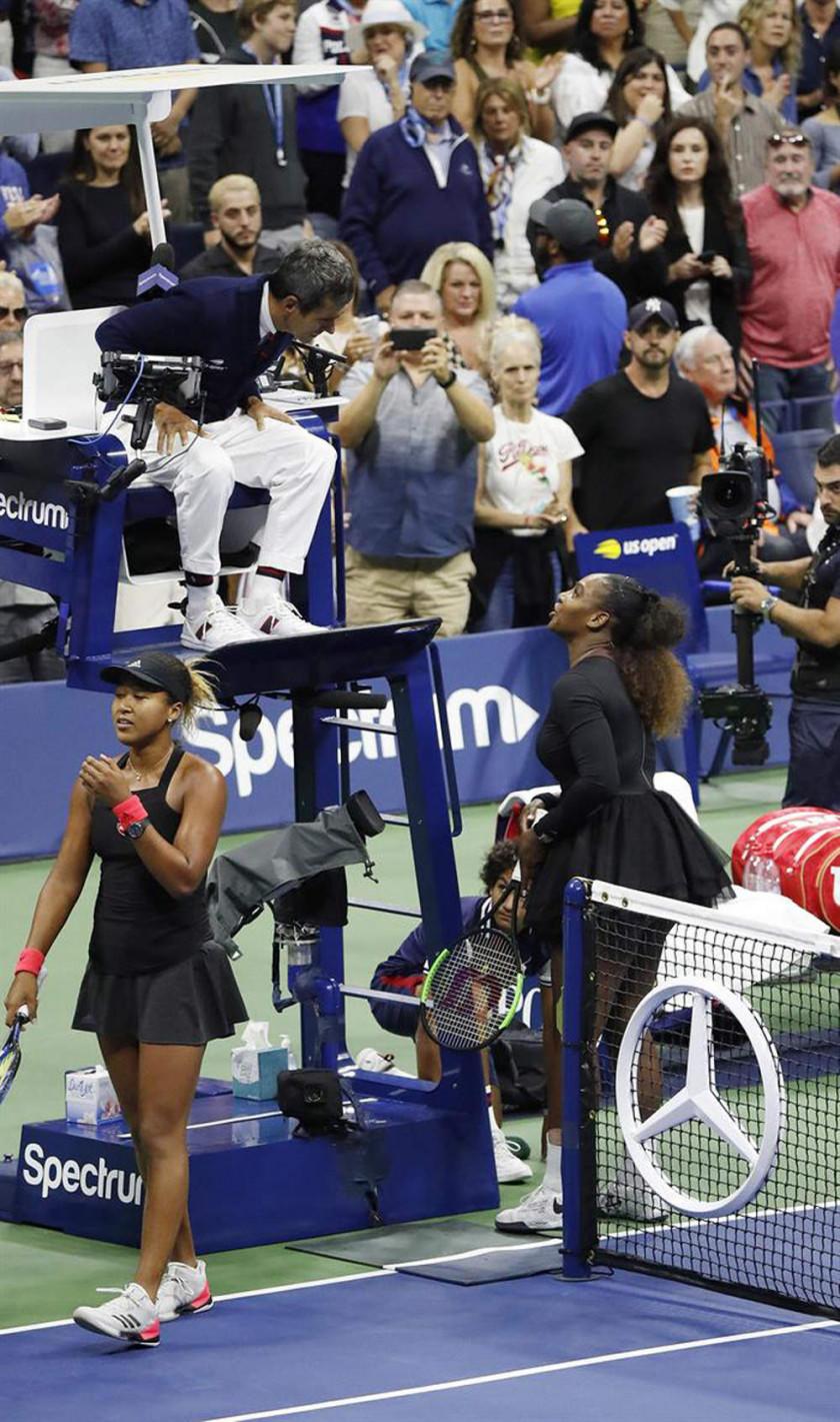 Serena Williams es multada con 17.000 dólares