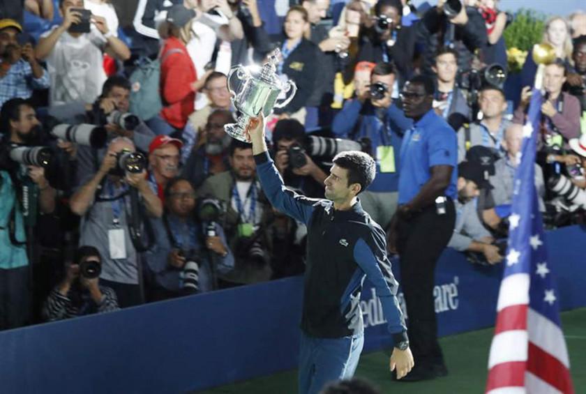 Djokovic gana el Abierto de EE.UU.