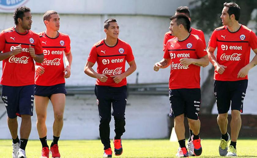La Roja chilena pone a prueba a Corea del Sur