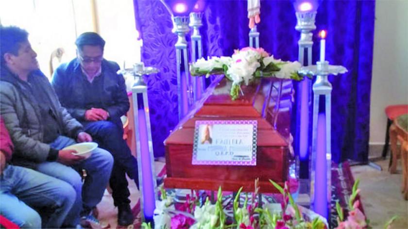 Una joven madre es víctima de brutal feminicidio en Oruro