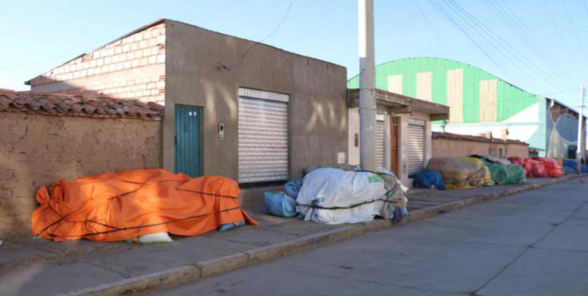 Los feriafranquistas suspenden armado de los puestos de venta