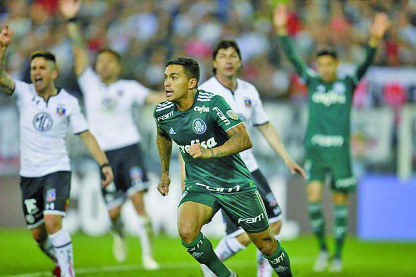 Palmeiras vence a Colo Colo en la ida de cuartos de final