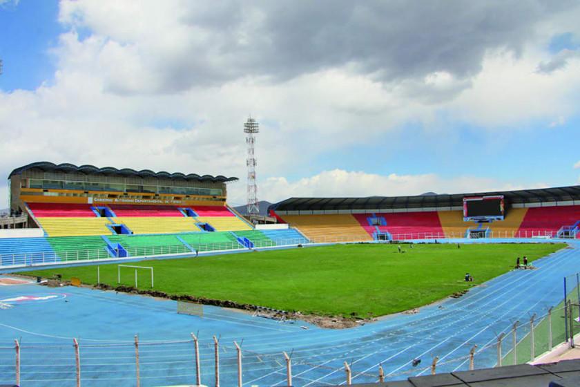 Conmebol inspeccionará en octubre el estadio de Potosí