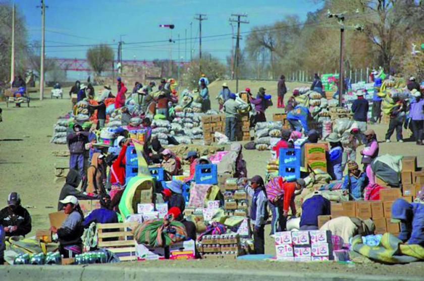 Acho: la crisis económica de Argentina afecta a Villazón
