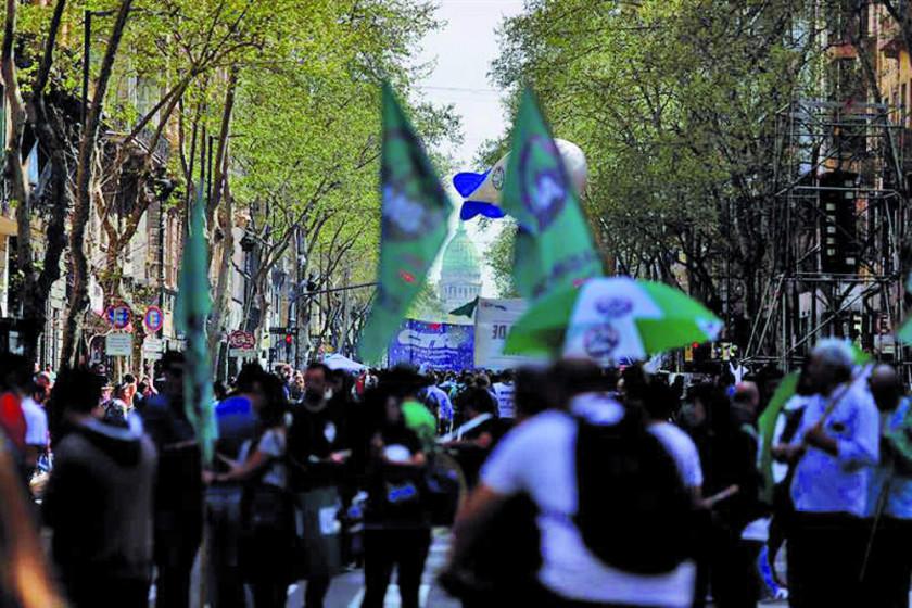 Argentina para contra políticas económicas de Mauricio Macri