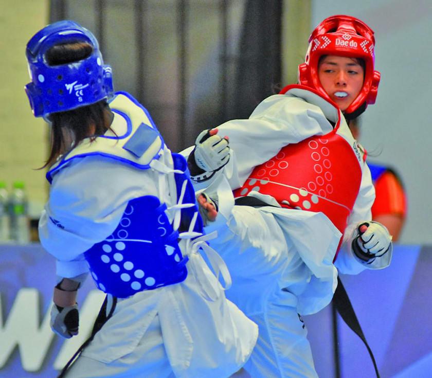El club Kukkiwon logra 32 medallas para Potosí en el nacional de taekwondo