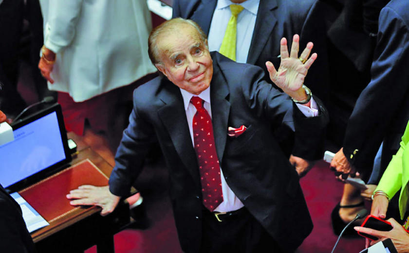Justicia absuelve a Carlos Menem en caso de contrabando de armas