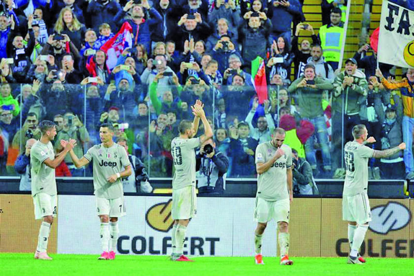 Juventus vence a Udinese
