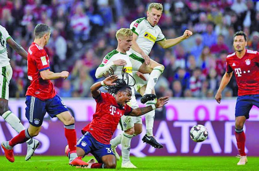 Borussia golea y agrava los problemas de Bayern