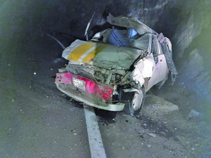 Tras colisionar, dos personas pierden la vida en la carretera hacia Atocha