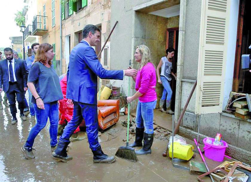 Torrenciales lluvias en España dejan diez personas fallecidas