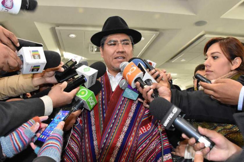 Pary: Bolivia jamás abandonará su objetivo de tener una salida al mar