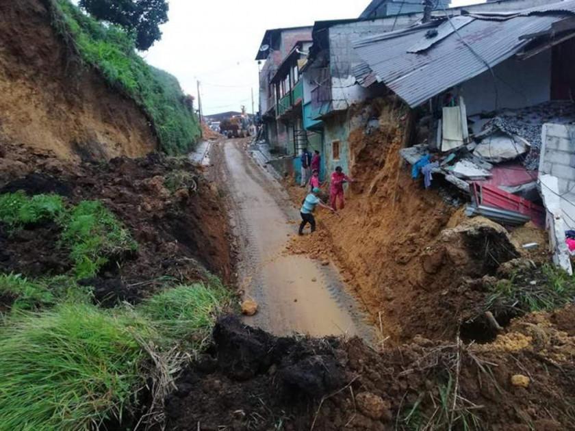 Deslizamiento de tierra deja 11 personas muertas en Colombia
