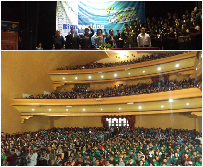 La olimpiada científica nacional reúne 1.300 personas en Potosí
