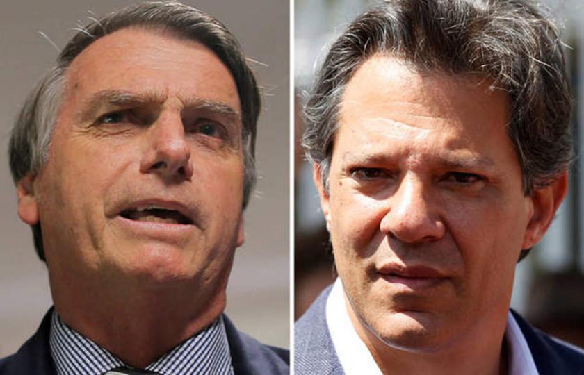 Bolsonaro y Haddad alertan sobre regreso del comunismo o dictadura