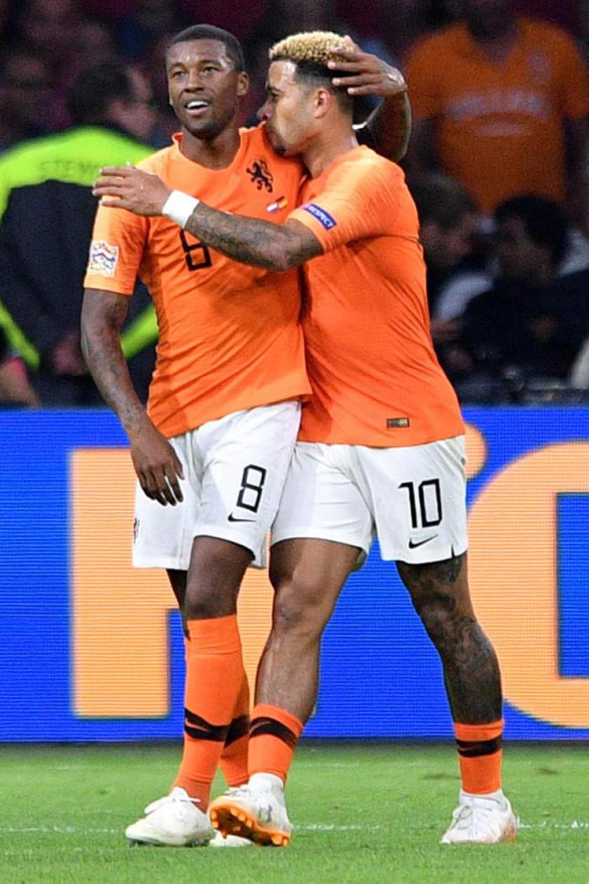 Holanda golea a Alemania en la Liga de Naciones