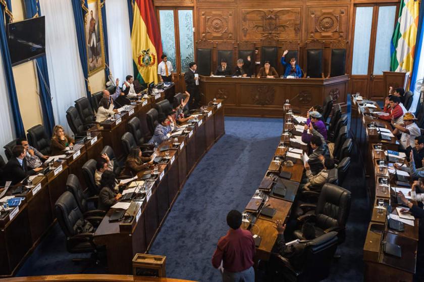 La próxima semana, el Senado tratará ley para cubrir acefalías del TSE