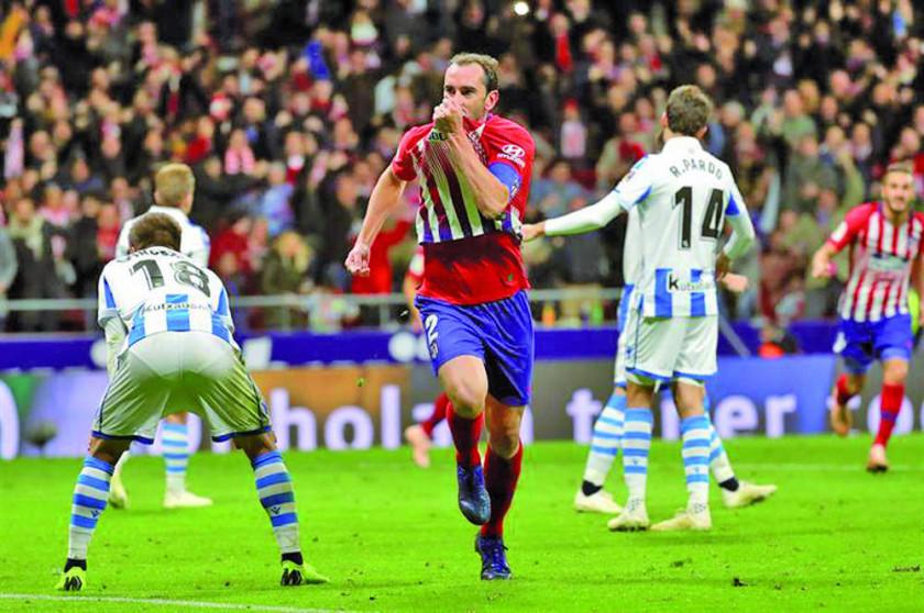 Atlético de Madrid vence a Real Sociedad y se sube al liderato de LaLiga Santander