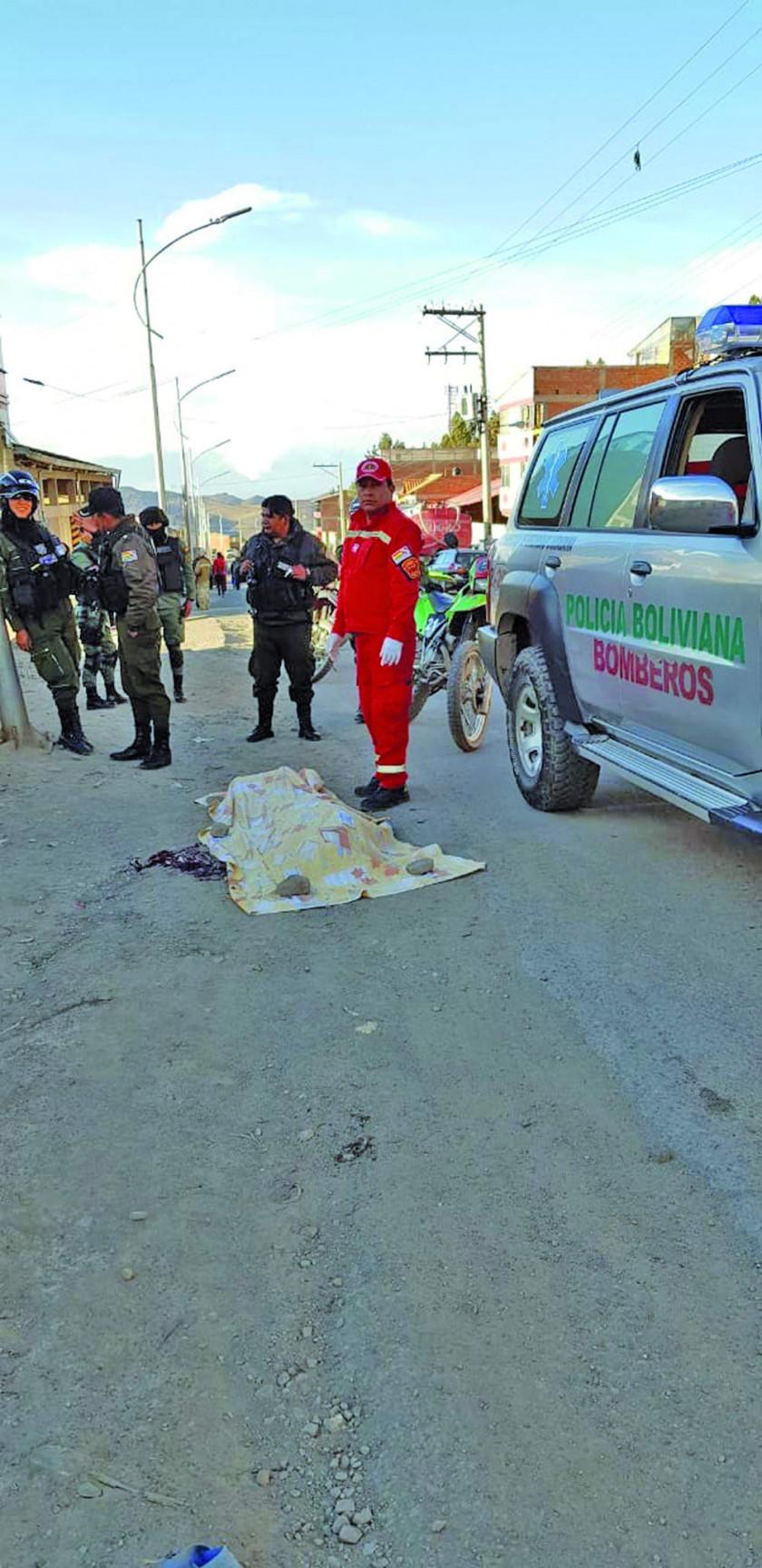 Una mujer pierde la vida atropellada  por un auto