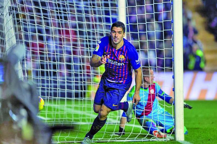 Barcelona logra un triunfo ante Rayo