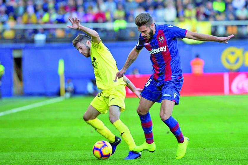 Villarreal rescata un punto ante Levante
