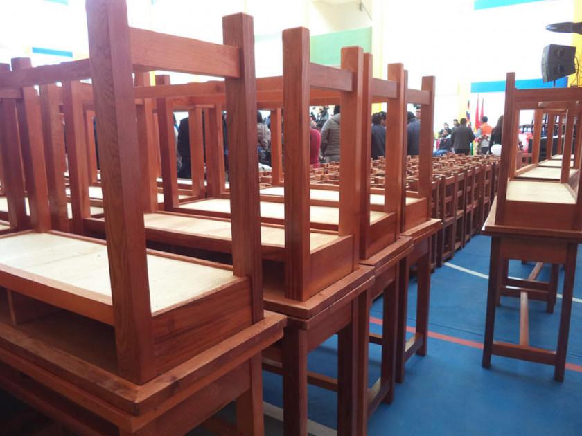 La Alcaldía compra mobiliario para las nuevas escuelas
