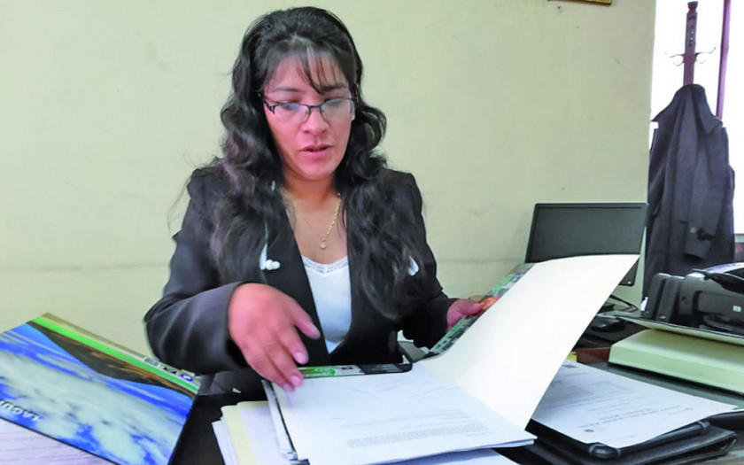 Fiscal departamental declara 15 bolivianos de patrimonio