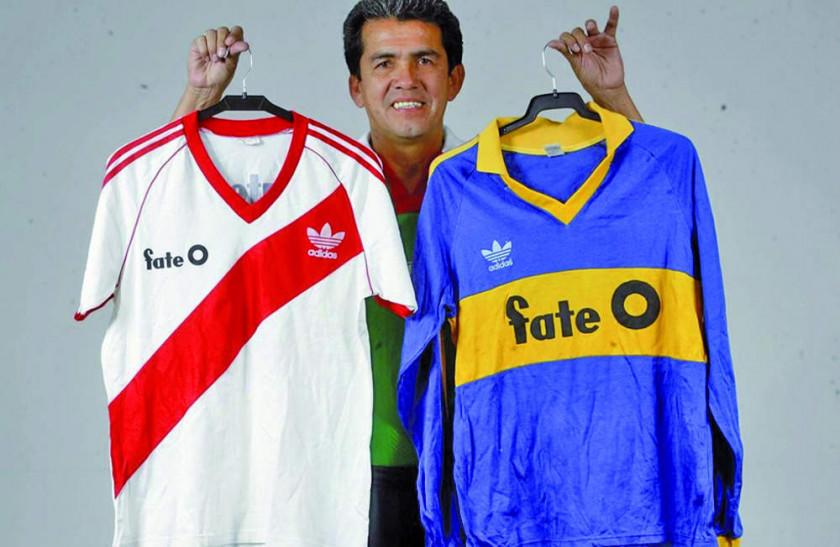 Melgar, el único boliviano que jugó en Boca y River