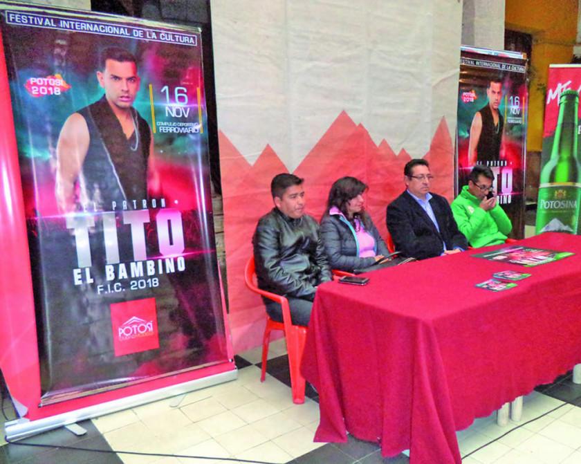 Tito El Bambino abre el FIC 2018