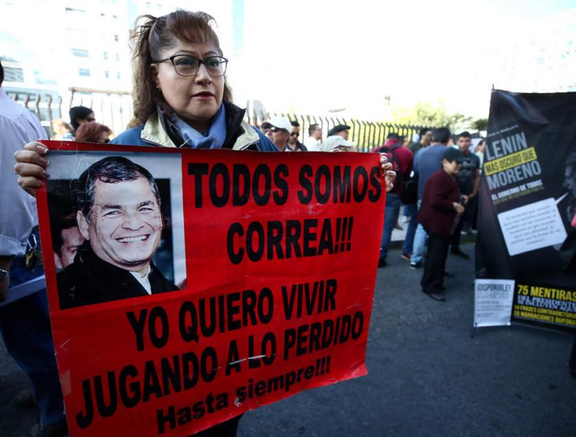 Rafael Correa irá a juicio por el rapto de un opositor en Ecuador