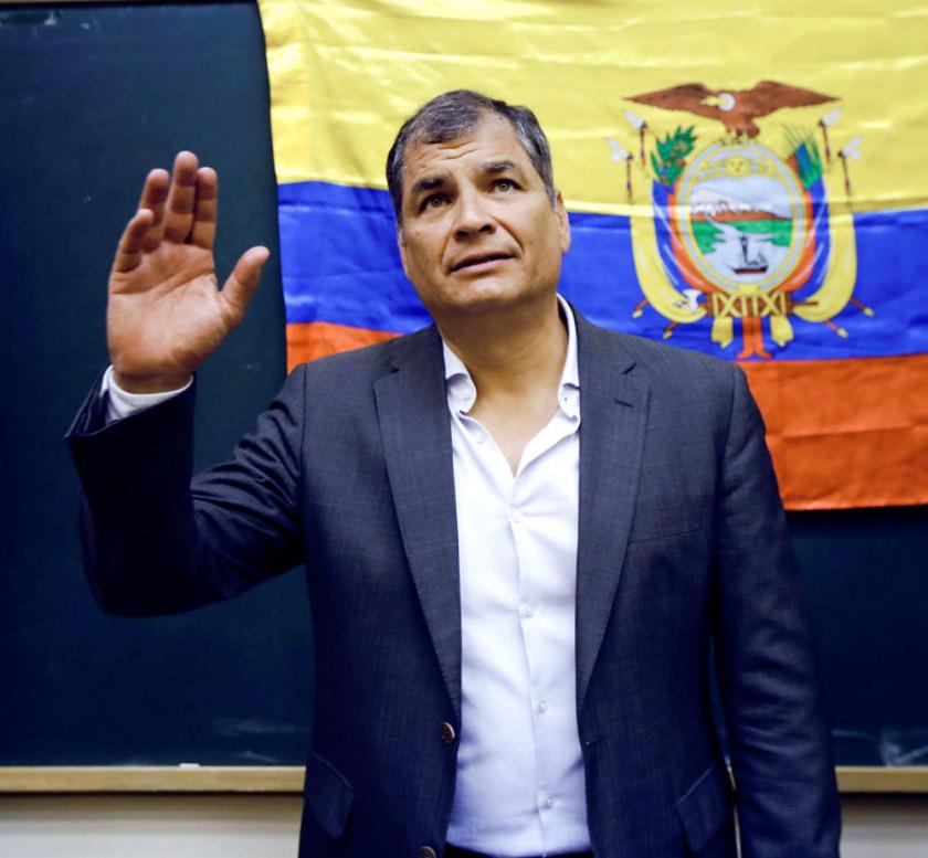 Rafael Correa estudia pedir asilo ante inminente juicio en Ecuador