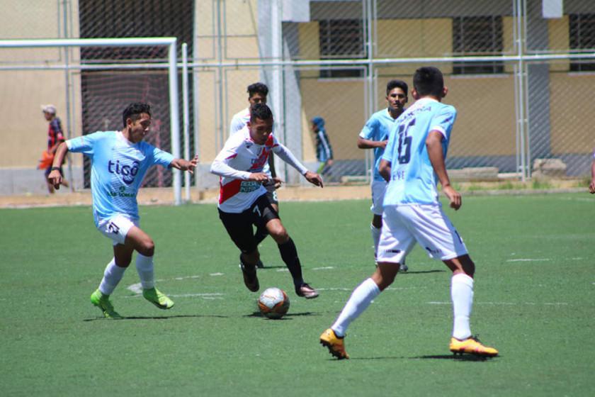 Nacional Potosí vence a Aurora en el campeonato sub 19 de la FBF
