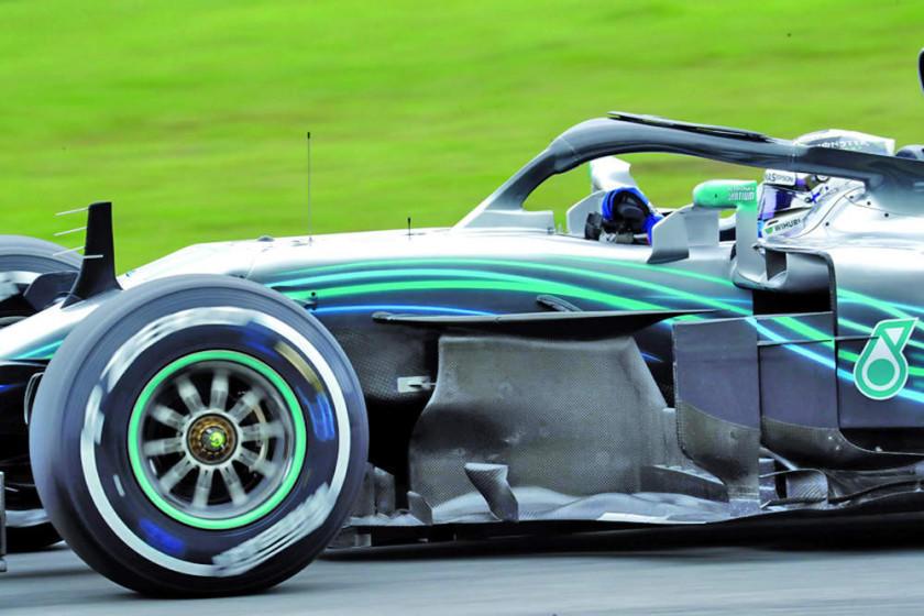 Bottas y Hamilton brillan en el GP de Brasil