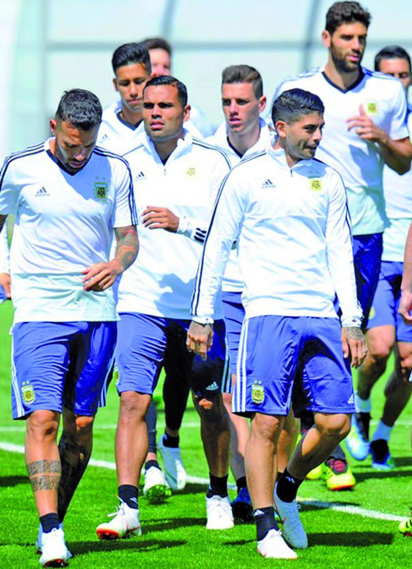 Argentina empieza su trabajo de preparación