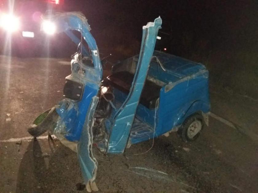 Dos personas fallecen en un  accidente de tránsito
