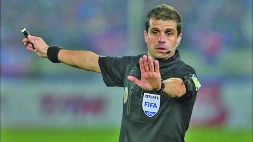 """El árbitro uruguayo Andrés Cunha conducirá la final en el """"Monumental"""""""