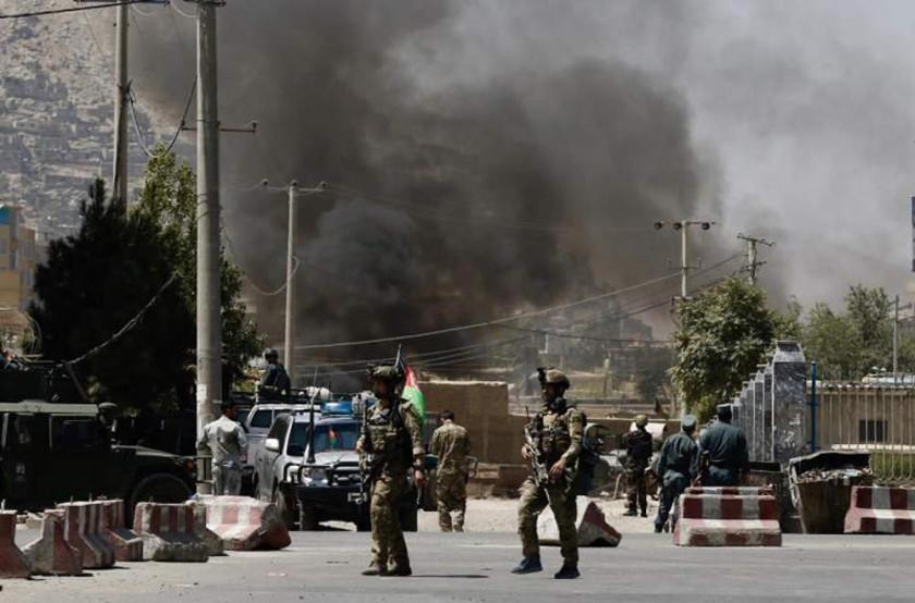 Mueren 36 militares en ataque de los talibanes en Afganistán