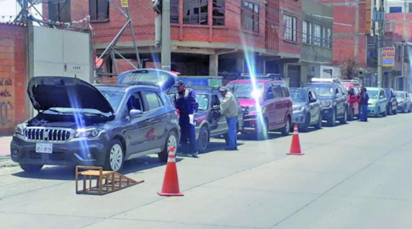 Policía amplía inspección técnica vehicular hasta el 8 de diciembre