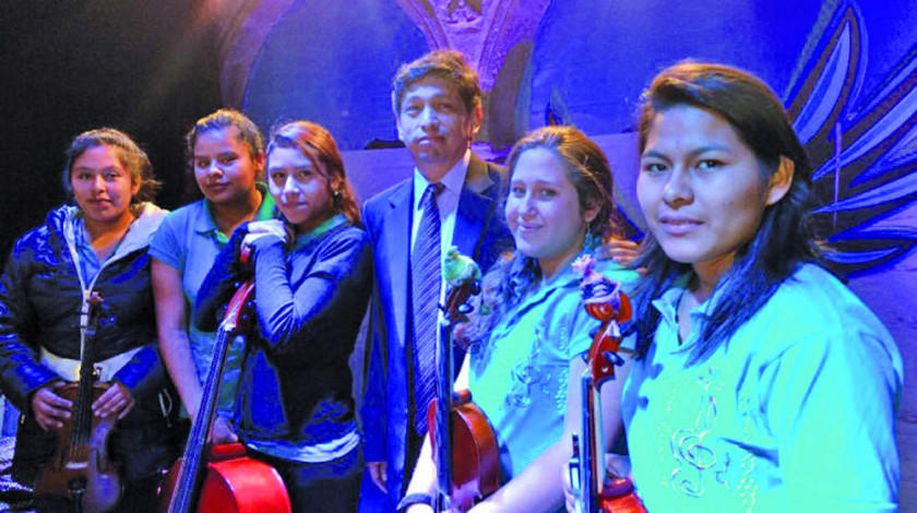 Jóvenes músicos de cinco países van a los Yungas para compartir melodías