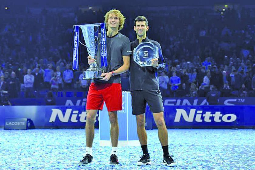 Zverev logra el título de las Nitto ATP Finales