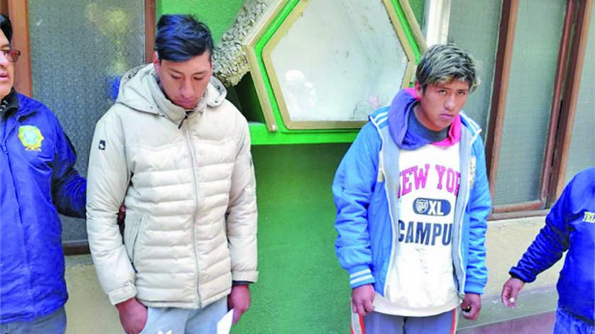 Policía aprehende a dos hermanos por una golpiza a un policía en El Alto