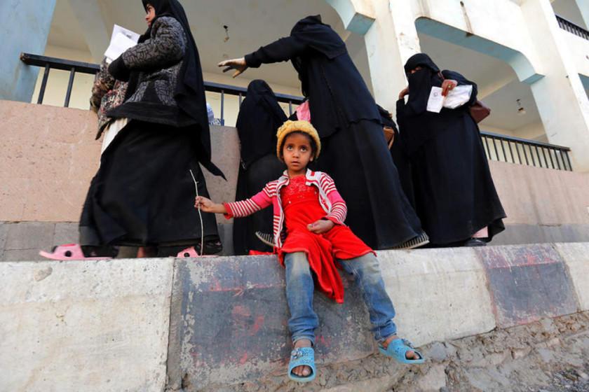 Unos 85.000 niños murieron de hambre en 5 años en Yemen