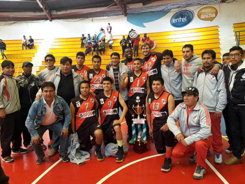 Nacional Potosí jugará un torneo internacional de básquet en Brasil