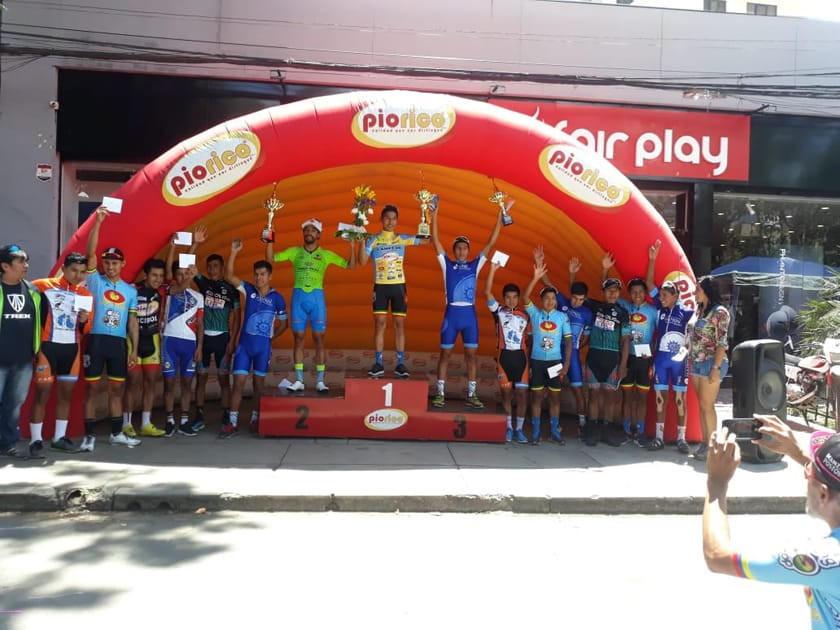 Potosino gana la Vuelta a Cochabamba de Ciclismo