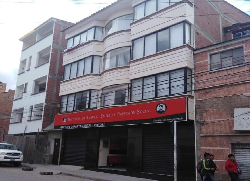 Dirección de Trabajo ya tiene infraestructura en Potosí