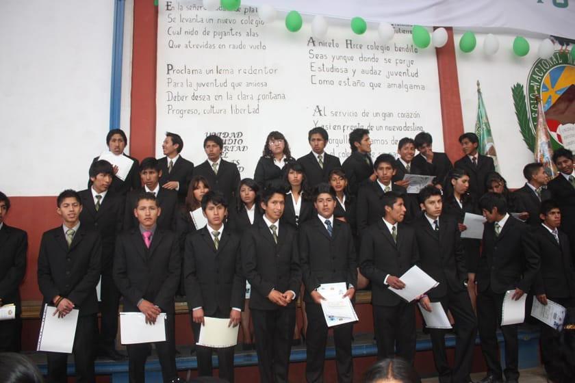 Los actos de promoción escolar serán en Potosí del 7 al 15 de diciembre