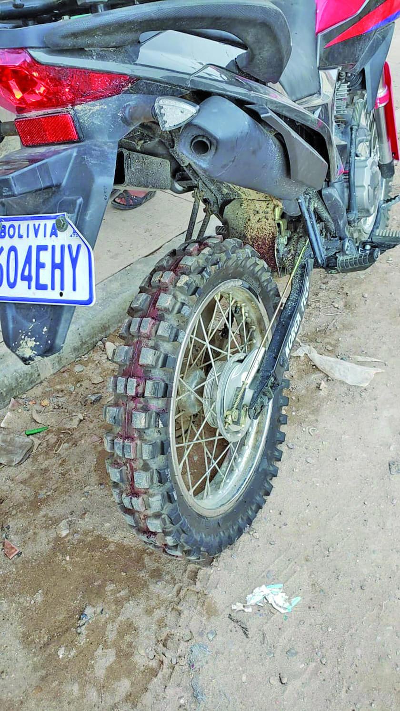 Un motociclista atropelló a un niño